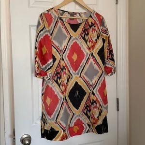 Kenar rayon/Silk dress (E21)